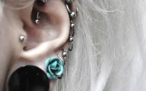 Что представляет собой прокол хряща уха