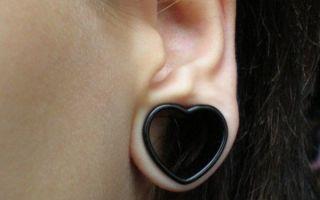 Тоннели в ушах — эпатируем публику без вреда для здоровья
