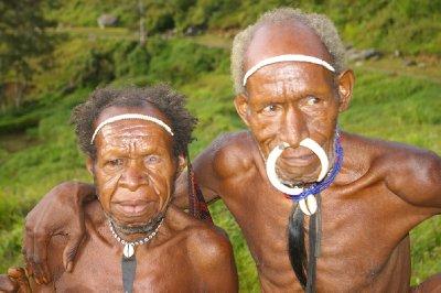 Пирсинг Австралийских аборигенов
