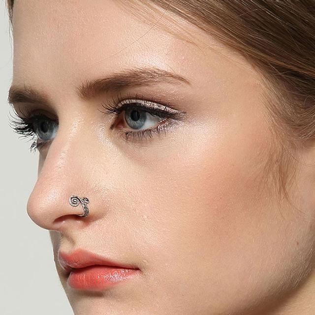 пирсинг крыла носа